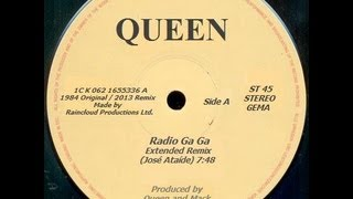 Queen - Radio Ga Ga (Extended Mix by José Ataíde - HQ sound)