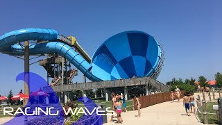 Raging Waves Waterpark | All Slides HD POV