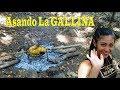 ASANDO LA GALLINA VIDA DEL CAMPO - AYUDANDO A MARIELA Y RENE HACER ADOBES  PARTE 12    ELSALVADORGO!