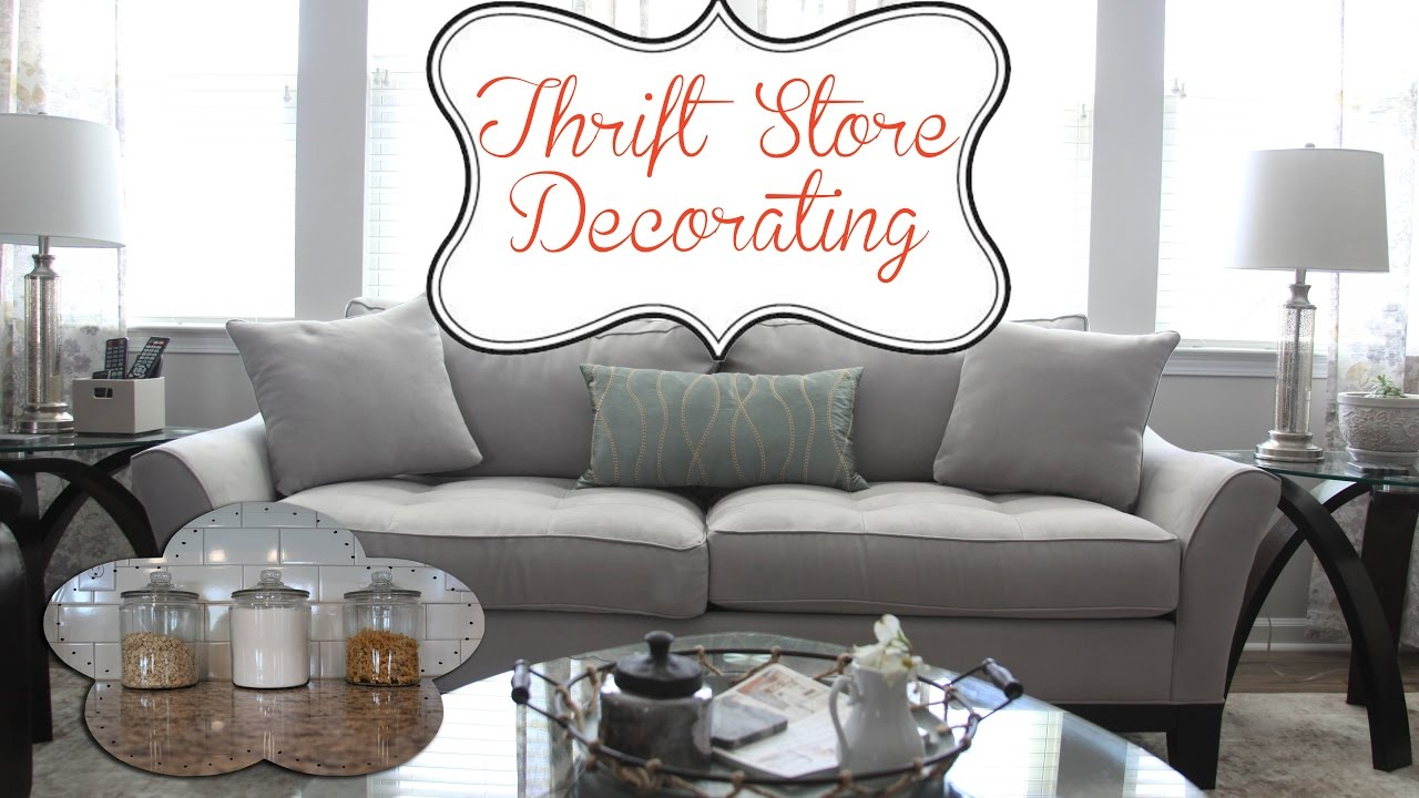 What I Found At The Thrift Store! Home Decorating Ideas Mini Haul!