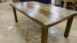 how to build a farm style table