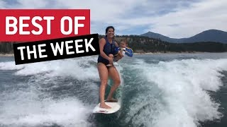 Best of the Week - Surfs Up, Baby! | JukinVideo