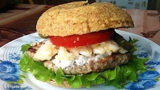 Рецепт. Домашний диетический чизбургер по Дюкану