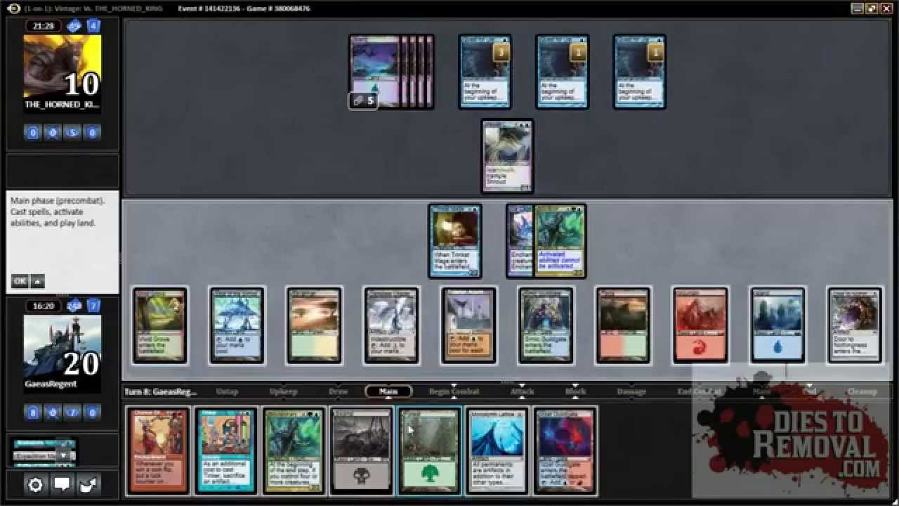 Casual mtg i win the game 2014 door to nothingness for Door to nothingness deck