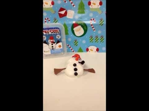 Snowman melting!