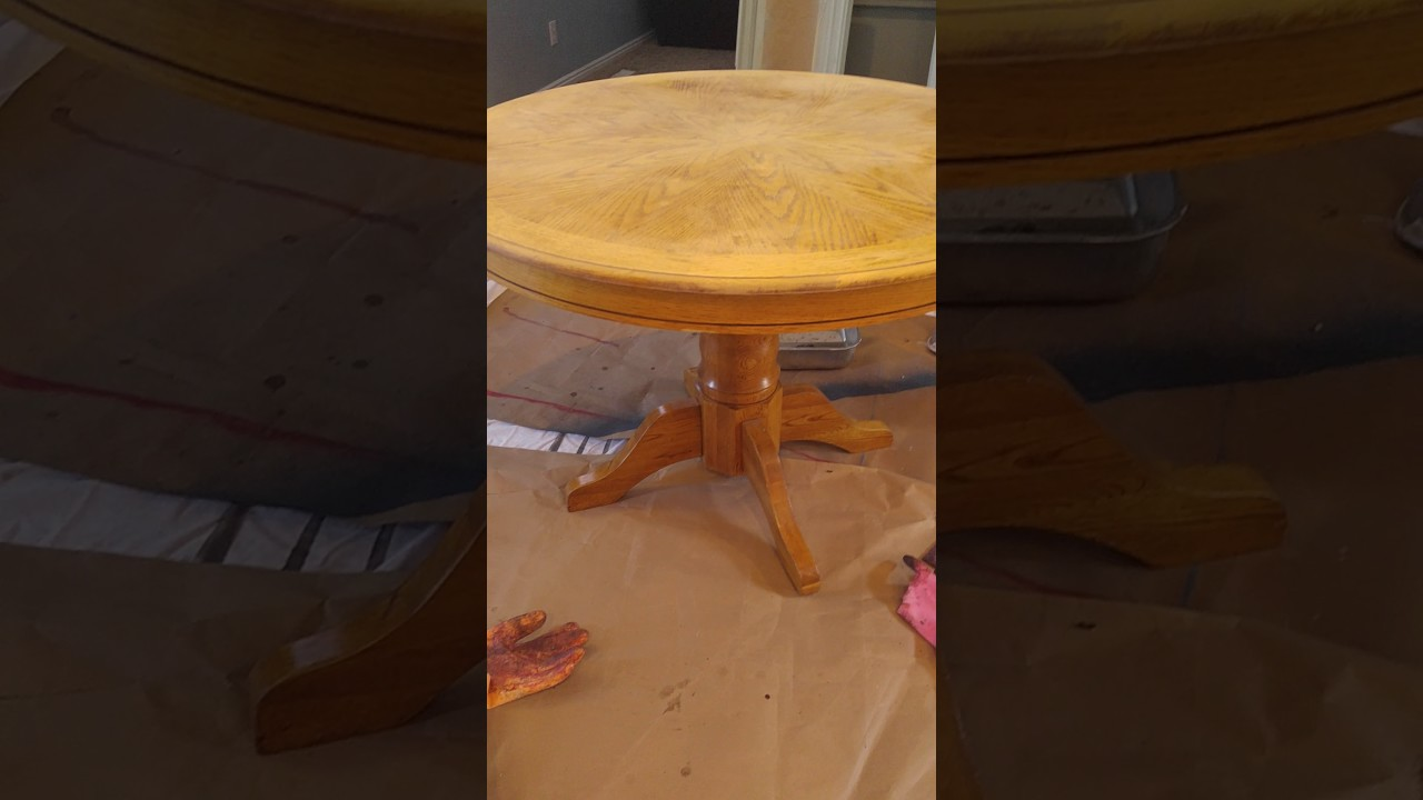How To Strip Refinish Wood Furniture Part 4 Youtube