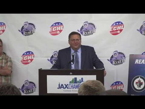Jacksonville Icemen - NHL Team Affiliation Announcement