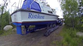 Трейлер для спуска судов весом до 16 тонн / Launching and Lift of boats up to 16 tns