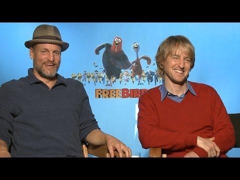 Woody Harrelson Mocks Zoolander 2 in Front of Owen Wilson | POPSUGAR Interview