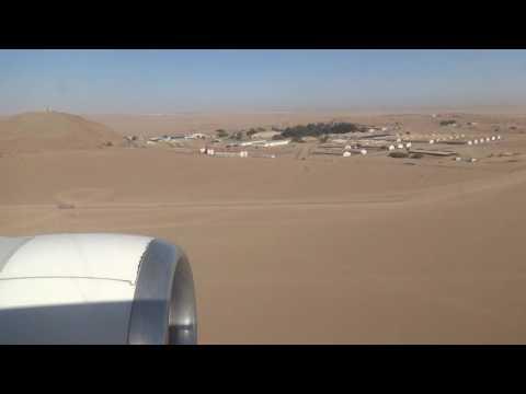 Johannesburg - Walvis Bay Flight 21. Namibia 2016