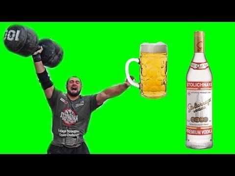 Спорт и алкоголь можно совмещать? Мнение спортсменов