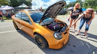 Srt4 Showdown XI ! The biggest Neon SRT4 meet of the YEAR!