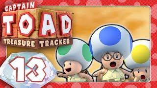 🔴 CAPTAIN TOAD: TREASURE TRACKER 🍄 #13: Triggernder Toad-Trupp & verfolgende Mumien