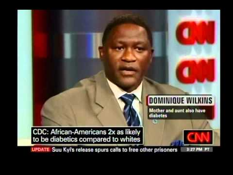 Dominique Wilkins and Don Lemon discuss diabetes screening and ...