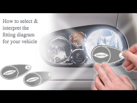 Eurolites How To Select Amp Interpret The Fitting Diagram For Your Vehicle Youtube