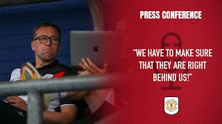 PRESS CONFERENCE   The Gaffer's First Media Appearance Ahead Of The 21/22 Season