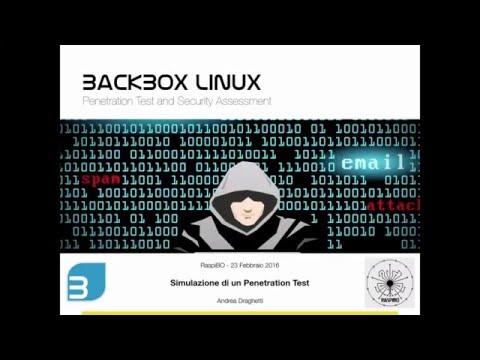 RaspiBO - Simulazione di un Penetration Test con BackBox Lin