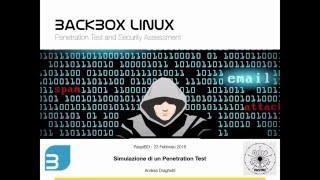 RaspiBO - Simulazione di un Penetration Test con BackBox Linux