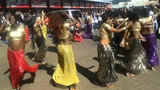 #ZeeWorld dancers flashmob at Diamond plaza