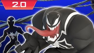 Venom Vs. Alien Symbiote Spider-Man - Disney Infinity 2.0: Marvel Super Heroes