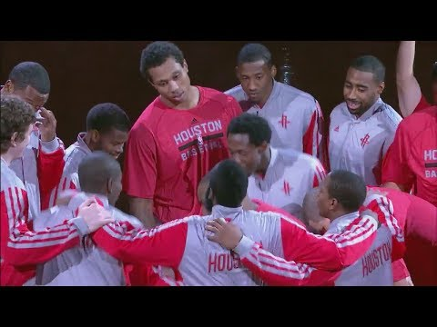 Houston Rockets All 15 Three-Pointers vs...
