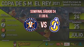 Copa de S.M. el Rey de Béisbol: Semifinal Astros Valencia - San Inazio Bilbao Bizkaia