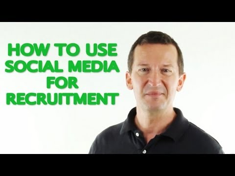 How to use Social Media For Recruitment - Interview with Katrina Collier