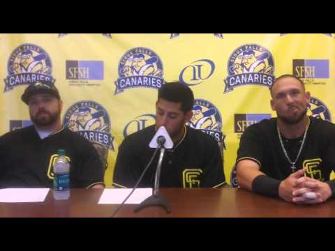 Sioux Falls Canaries Post Game Press Conference 6/27/15