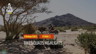 #DAKAR2021 - Stage 1 - Jeddah / Bisha - Bike/Quad Highlights