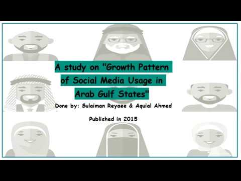 the Growth Pattern of Social Media Usage in Arab Gulf States