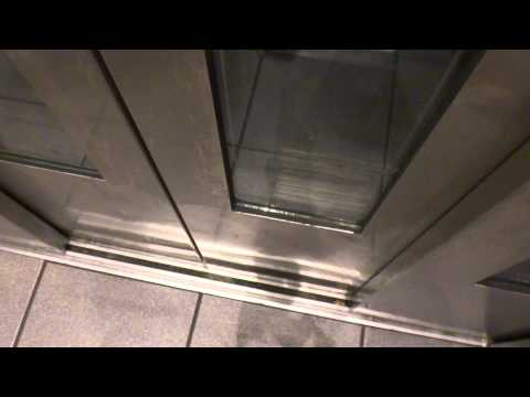 NICE INCLINE elevator @ CityPlace station in Dallas TX