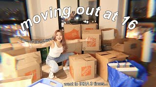 MOVING OUT (I spent 8 hours in IKEA...) | vlog #1