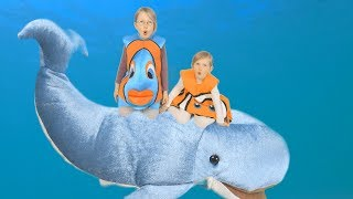 The Ocean Song (keep the ocean clean!) - marine animal song for children & the whole family