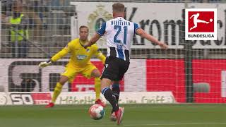 Arminia Bielefeld vs Hoffenheim 0-0 Robin Hack miss huge chance in draw for Bielefeld Match recap