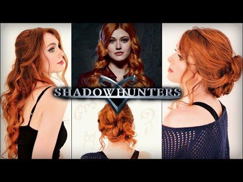 "Clary Fray ""Shadowhunters"" Hair Tutorial | Katherine McNamara Hairstyles"
