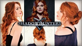 "Clary Fray ""Shadowhunters"" Hair Tutorial   Katherine McNamara Hairstyles"
