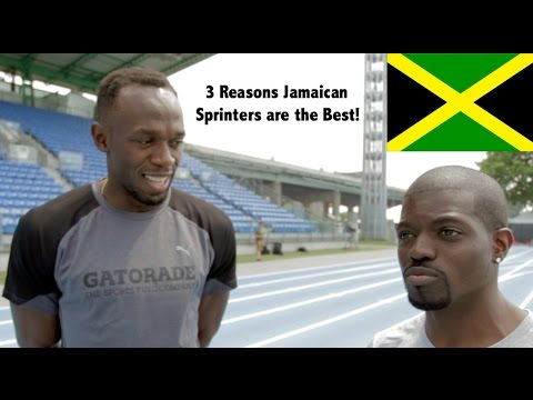 Usain Bolt Gives 3 Reasons Jamaica Has the Best Sprinters!