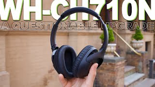 Sony WH-CH710N Review - Compared To Sony WH-CH700N