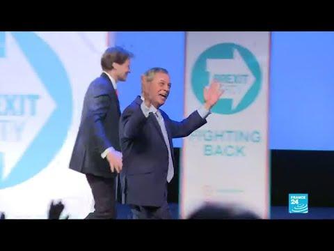 Élections européennes: au Royaume-Uni, Nigel Farage est de retour avec son « Brexit Party »