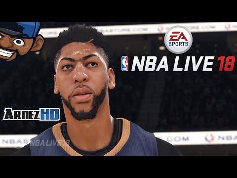 NBA LIVE 18 - Playing Through The Demo