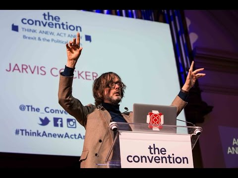 "Jarvis Cocker: ""The resistance starts here and its slogan is fun not fear"""