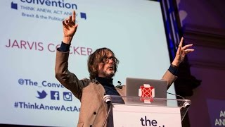 """Jarvis Cocker: """"The resistance starts here and its slogan is fun not fear"""