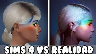 los sims 4 vs la vida real ariana grande