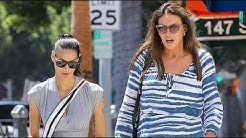 Caitlyn Jenner Looks Flawless In Zebra-Print For Shopping Spree With Her Stylist