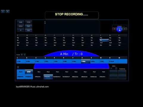 General Midi Auto Accompaniment System (Midi Style Player)  byyARRANGER