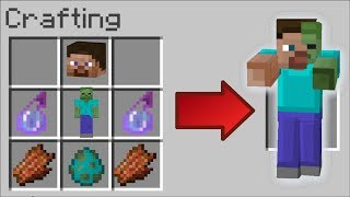 HOW TO INSTANTLY CURE A ZOMBIE INFESTATION IN MINECRAFT !! Minecraft Mods