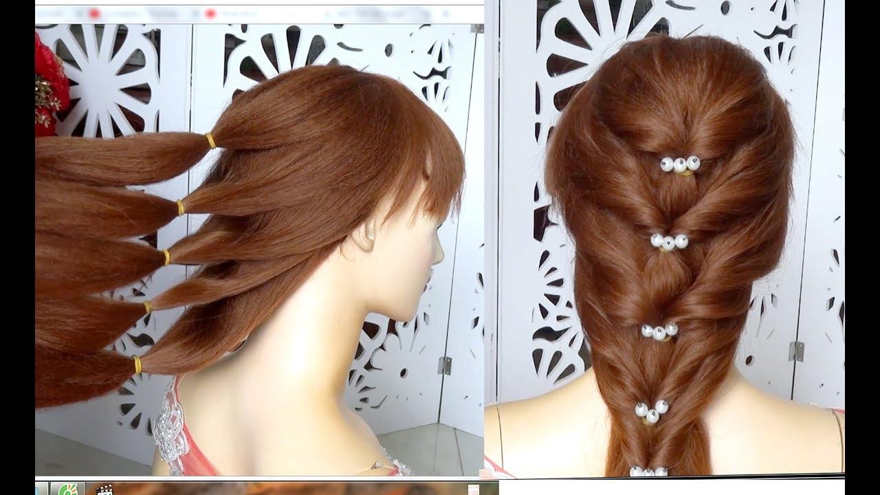 Hướng dẫn tết tóc cô dâu hàn quốc đơn giản