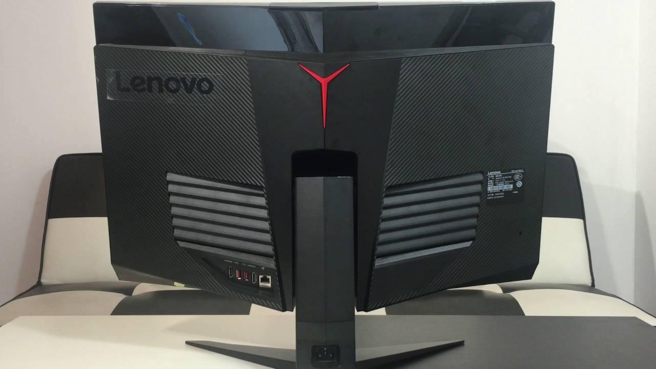 "Quick look at Lenovo IdeaCentre AIO Y910 (27"") - YouTube"