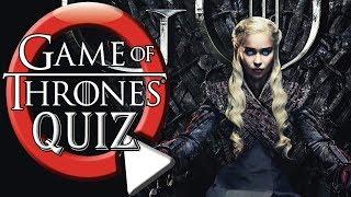Best of Game of Thrones Quiz