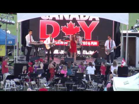 Canada day at townsend Park 2015